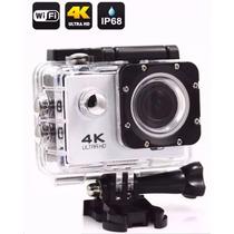Câmera Filmadora Wi-fi Hd 4k Stand Up Prova Dagua Mini Dv