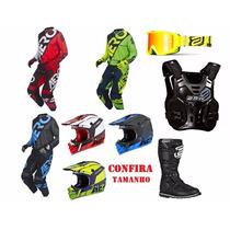 Kit Equipamentos Asw Completo!!! Motocross Trilha Enduro