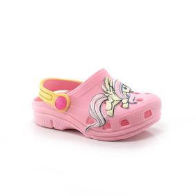 Sandália Plugt Babuche My Little Pony Infantil - Way Tenis