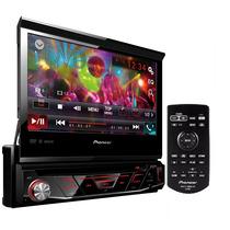 Radio Dvd Pioneer Tela Retrátil 7 Avh-4880bt Bluetooth Usb