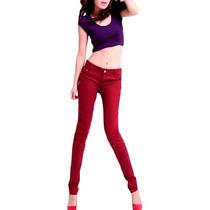 Pantalones Mujer Gabardina Todos Los Colores Baratos