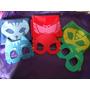 Capas Y Antifaz Pj Masks ( Heroes En Pijamas)