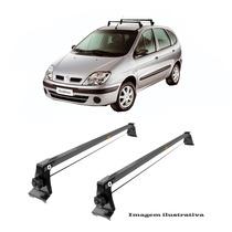 Rack De Tet Aco Renault Scenic 1998 A 2010 No Friso Do Teto