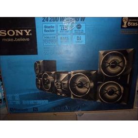Equipo De Sonido Sony Genezi Gpx88 24600w Ultima Generacion