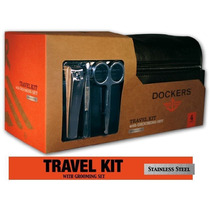 Bolsa Dockers Travel Kit Incluye Accesorios De Regalo