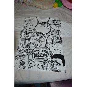 Camiseta Branca Memes