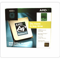 Processador Amd Am2 Athlon 64 X 2 4000 Core Box - Novo !!