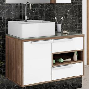 Gabinete Para Banheiro Itatiaia Luna Igbd1g2 80 (não