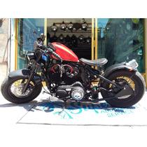 Harley Davidson Xl1200 2011 Increible Estilo Bobber
