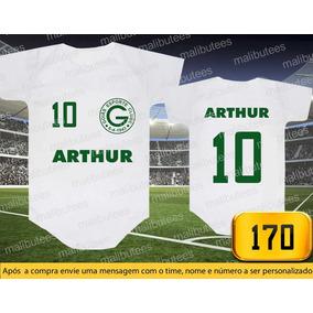 Body Ou Camisetas Times Goiás Brasileiro Personalizado