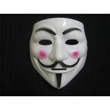Mascara Venganza - Anonymous - Jgo Del Miedo Plastico