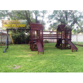 Juegos de madera para parques juegos de aire libre y agua en mercado libre argentina - Parque infantil de madera ...