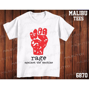 Camiseta Rage Against The Machine Rock Banda Classic Metal