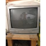Tv A Color 19 Pulgadas Marca Sanyo Con Control Remoto.