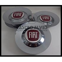 Kit 4 Pçs Calota Roda Scorro S182 Cromada Fiat Aro 14|15|17