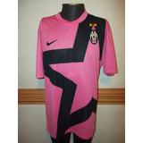 Camiseta De La Juventus De Italia Rosada Talle M