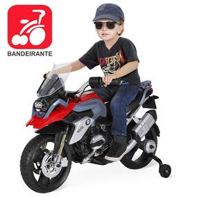 Motoca Bmw Elétrica Infantil Passeio Criança Motocross 12v