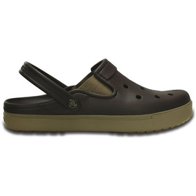 Zapato Crocs Unisex Adulto City Sneaks Slim Café