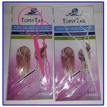 Agujas Topsytail Para Realizar Peinados Moños Colas