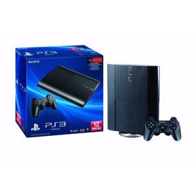Playstation 3 Ps3 12gb Super Slim Bivolt 3d + 1 Jogo Hdmi