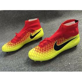 Chuteira Nike Mercurial Verde Limao Infantis Campo Sao Paulo ... 7dd812f40f06c