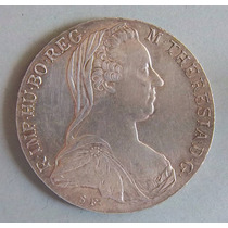 Austria 1 Thaler 1780 Plata Reacuñación