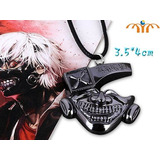 Tokyo Ghoul - Mascara De Kaneki Collar De Metal Importado