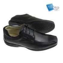 Sapato Social Sândalo Plume Walk Black
