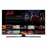 Smart Tv Samsung 40 Fhd C/ Netflix J5300 + Soporte De Regalo