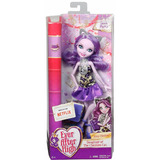 Ever After High, Kitty Cheshire, Book Party Mattel- Nueva