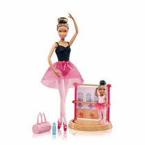 Barbie Can Be Quero Ser Instrutora Ballet Bailarina Negra
