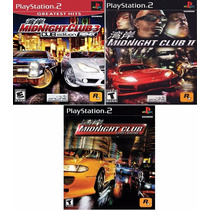 Midnight Club Collection - 3 Games Patch P/ Ps2 Desbloqueado