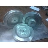Polea Aluminio De 3 1/2 Pulgadas De Dos Canal Tipo A Y B