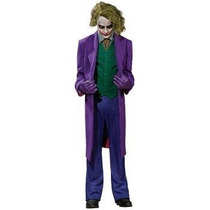 Disfraz Joker Adulto Hombre Halloween Batman Guason