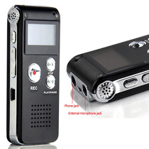 Grabadora De Voz Digital Graba Teléfono Audifono 8gb Usb