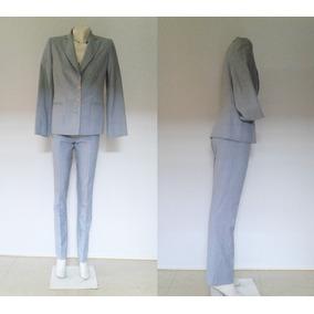 Tailleur/traje De Vestir P/dama - Blazer Y Pantalón Talle M