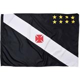 Bandeira Do Vasco Da Gama D/ Poliester 128 X 90 Cm 1 Face