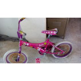 Bicicleta De Niña R.16 Barbie Buenas Condiciones
