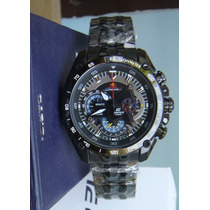 Reloj Casio Edifice Ef-550bkrb-1av Black Red Bull - Original
