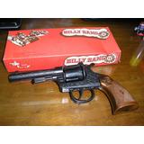 Juguete Antiguo Revolver Metal Cebitas Billy Bang En Stock