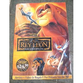 Poster Disney - El Rey León Cine Animacion Dibujos Animados