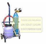 Equipo Soldadura Portatil Tubo De Oxigeno 1/2 M3 Gas 2 Kg