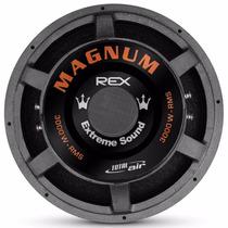 Sub-woofer 18 3000 Rms 4 Ohms Magnum Rex