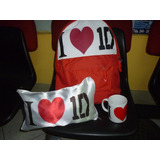 Pack One Direction,mochila ,almohada Y Taza, Aprovecha!