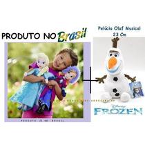 Kit Frozen 2 Bonecas (elsa E Anna) + 1 Olaf - Já No Brasil