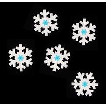 Copos Nieve Grande Goma Eva Foamy Fomi Fomy Princesas Frozen