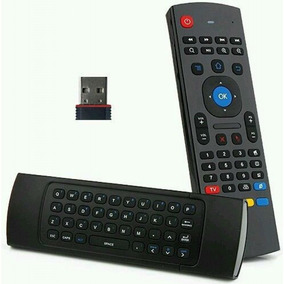 Control Remoto Air Fly Mouse + Teclado 2.4g Giroscopio