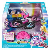 Barbie Star Light Adventure Flying Rc Hoverboard Mattel