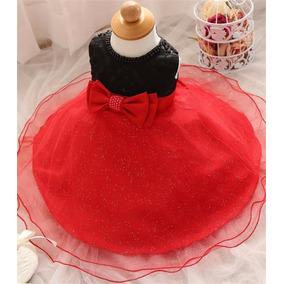 Vestido Infantil Minnie Festa, Aniversário