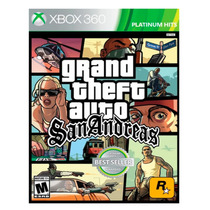 Juego Xbox 360 Game Gta San Andreas Ibushak Gaming